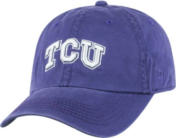 Top of the World Men's TCU Horned Frogs Purple Crew Adjustable Hat product image