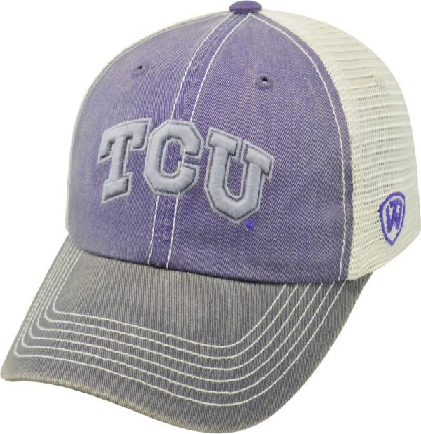 Top of the World Men's TCU Horned Frogs Purple/White/Black Off Road Adjustable Hat product image