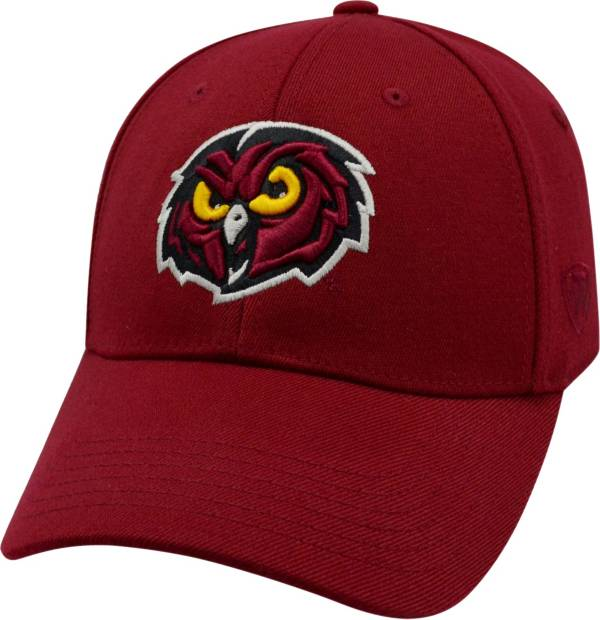 Top of the World Men's Temple Owls Cherry Premium Collection M-Fit Hat product image