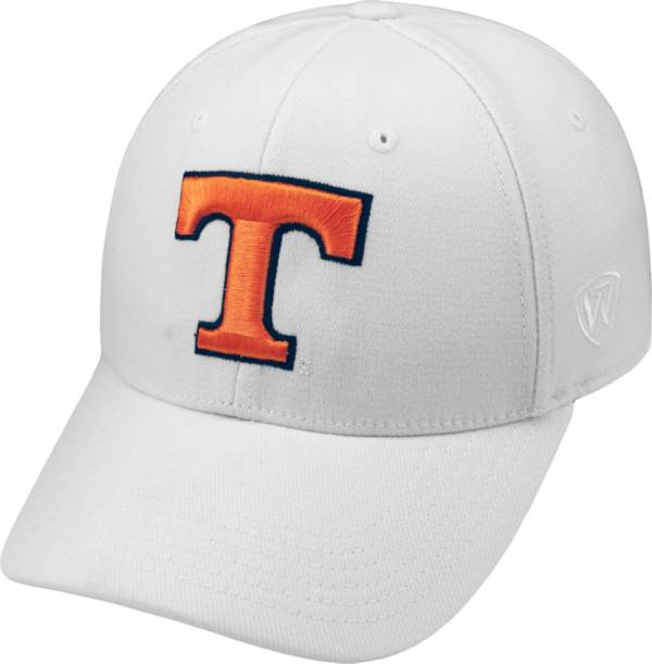 Top of the World Men's Tennessee Volunteers White Premium Collection M-Fit Hat product image