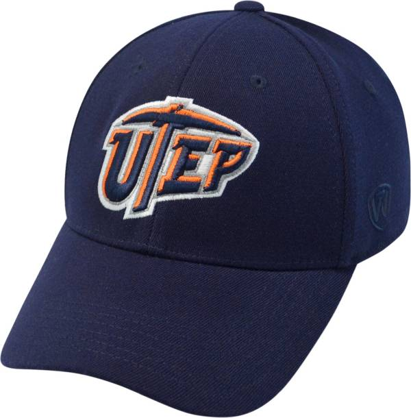 Top of the World Men's UTEP Miners Navy Premium Collection M-Fit Hat product image