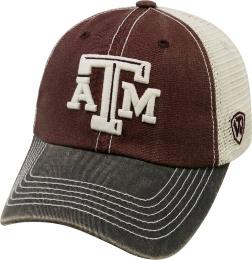 be8b715800a ... Men s Texas A M Aggies Maroon White Grey Off Road Adjustable Hat.  noImageFound. Previous