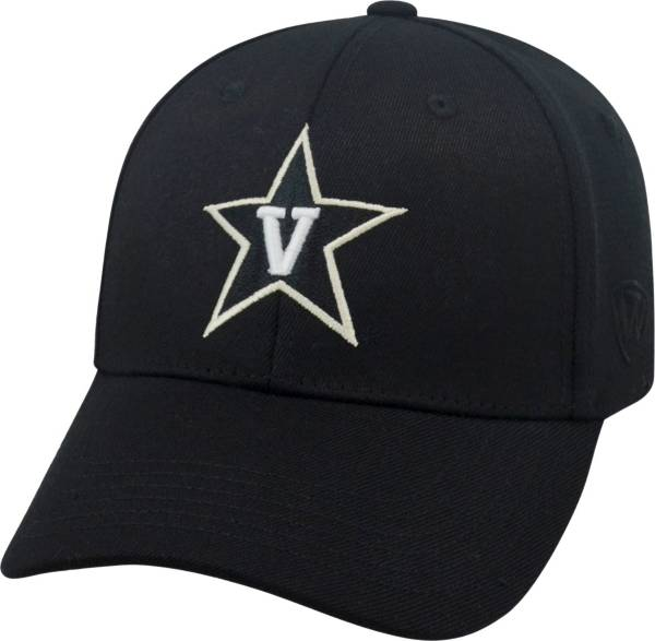 Top of the World Men's Vanderbilt Commodores Black Premium Collection M-Fit Hat product image