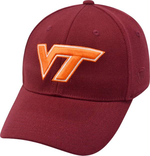 Top of the World Men's Virginia Tech Hokies Maroon Premium Collection M-Fit Hat product image