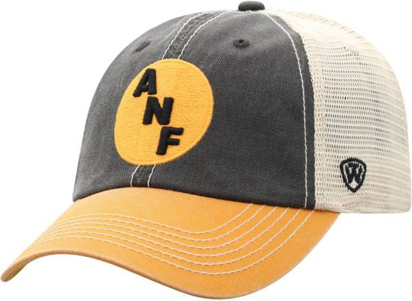 Top of the World Men's Iowa Hawkeyes Black/White/Gold Off Road Adjustable Hat product image