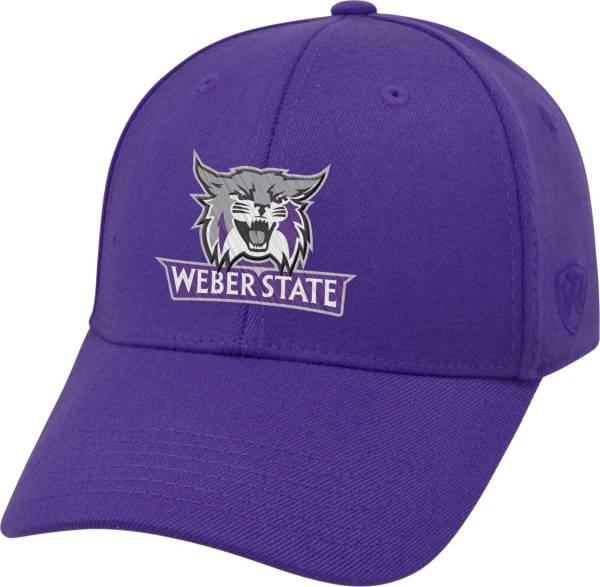 Top of the World Men's Weber State Wildcats Purple Premium Collection M-Fit Hat product image