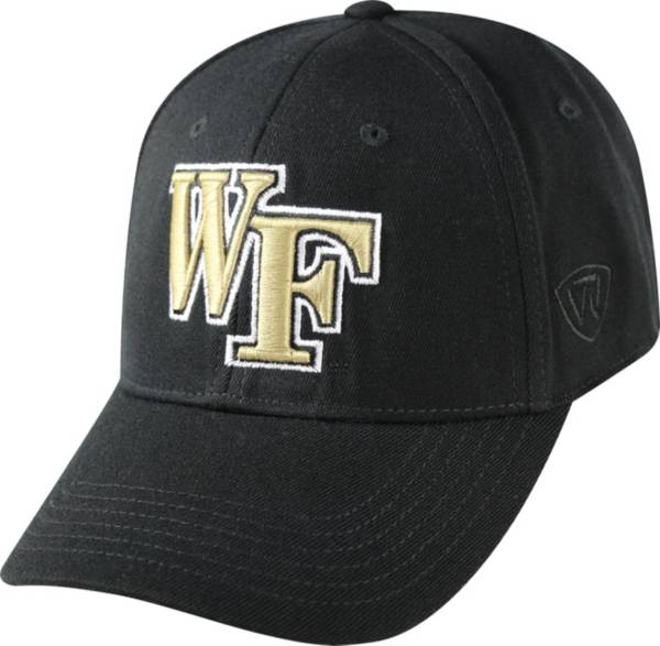 Top of the World Men's Wake Forest Demon Deacons Black Premium Collection M-Fit Hat product image