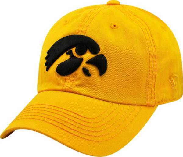 Top of the World Men's Iowa Hawkeyes Gold Crew Adjustable Hat product image