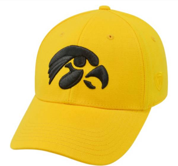 Top of the World Men's Iowa Hawkeyes Gold Premium Collection M-Fit Hat product image