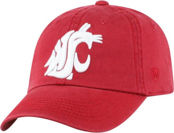 Top of the World Men's Washington State Cougars Crimson Crew Adjustable Hat product image