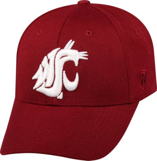 Top of the World Men's Washington State Cougars Crimson Premium Collection M-Fit Hat product image