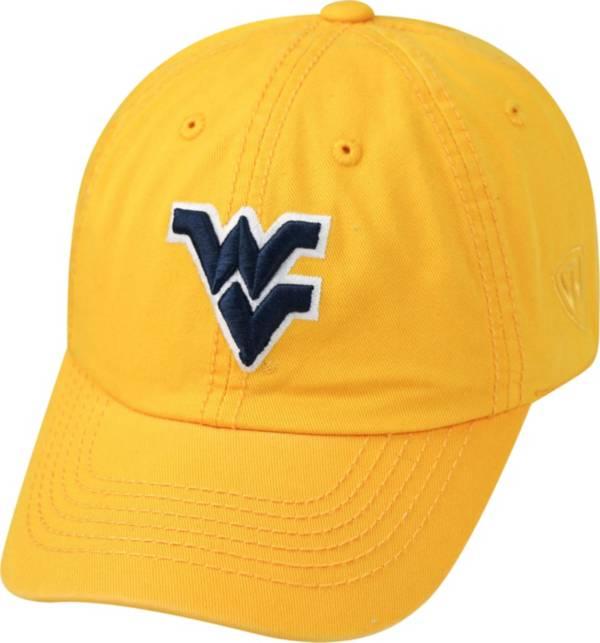 Top of the World Men's West Virginia Mountaineers Gold Crew Adjustable Hat product image