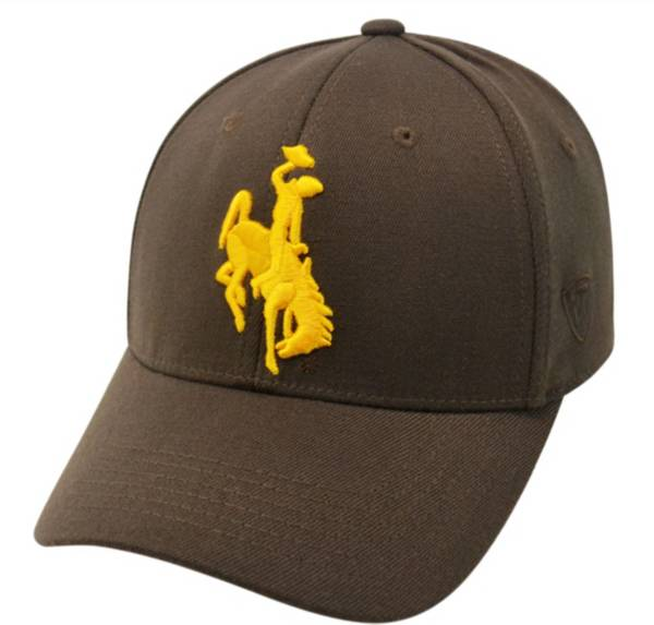 Top of the World Men's Wyoming Cowboys Brown Premium Collection M-Fit Hat product image