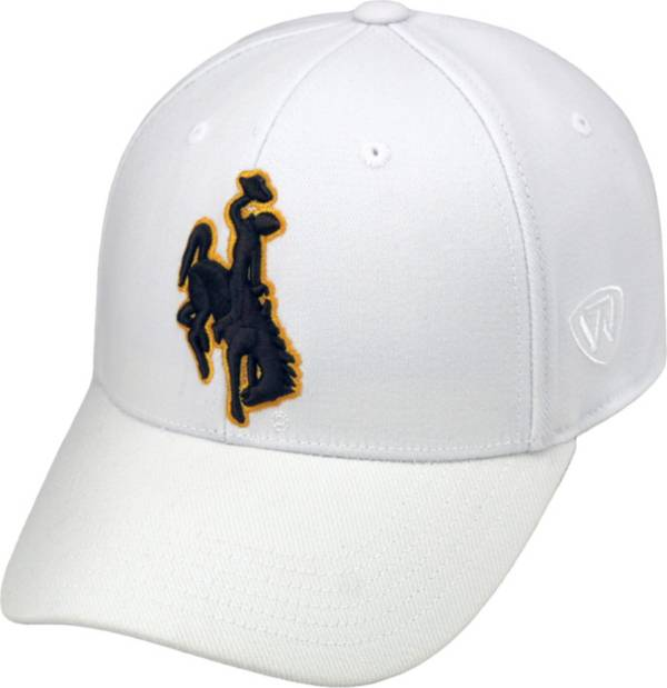 Top of the World Men's Wyoming Cowboys White Premium Collection M-Fit Hat product image