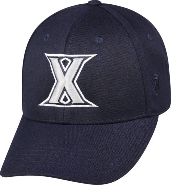 Top of the World Men's Xavier Musketeers Blue Premium Collection M-Fit Hat product image