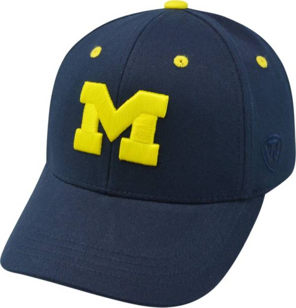 Top of the World Youth Michigan Wolverines Blue Rookie Hat product image