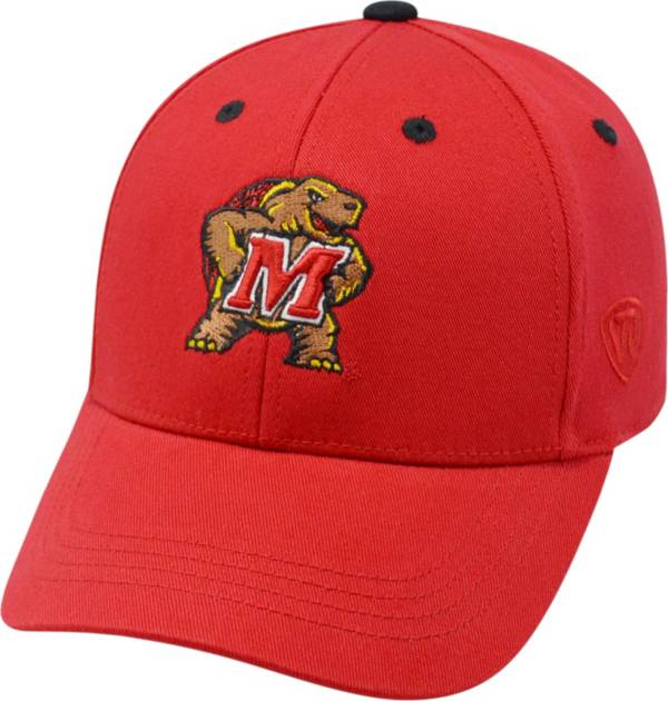 Top of the World Youth Maryland Terrapins Red Rookie Hat product image