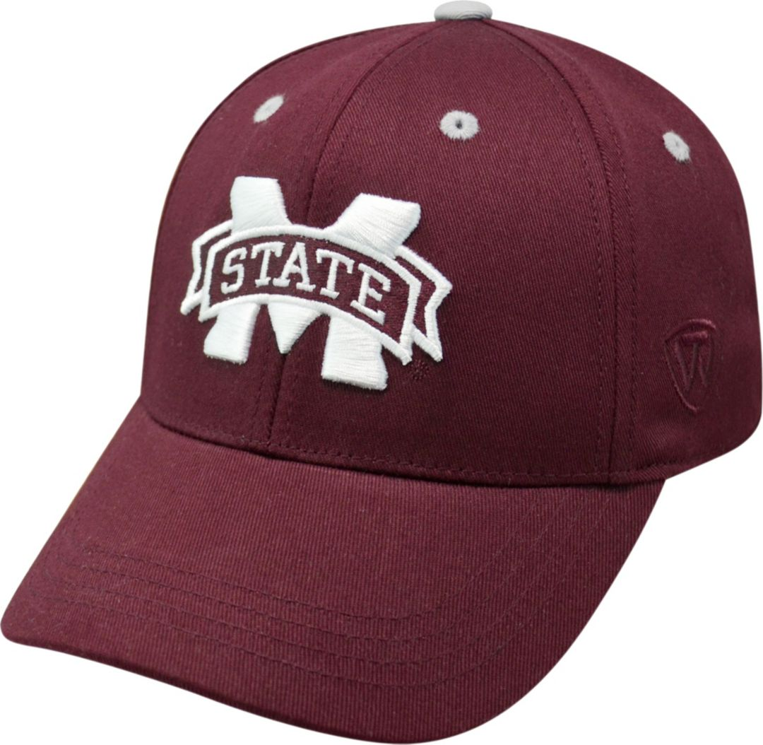 promo code db657 c456d Top of the World Youth Mississippi State Bulldogs Maroon Rookie Hat.  noImageFound. Previous