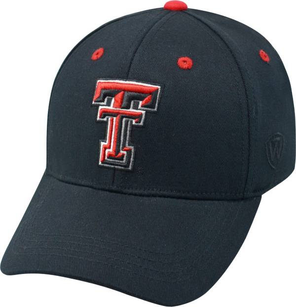 Top of the World Youth Texas Tech Red Raiders Rookie Black Hat product image