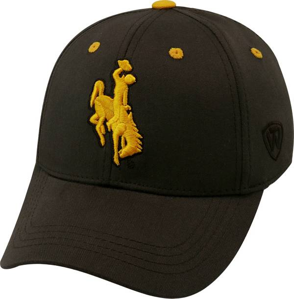 Top of the World Youth Wyoming Cowboys Brown Rookie Hat product image