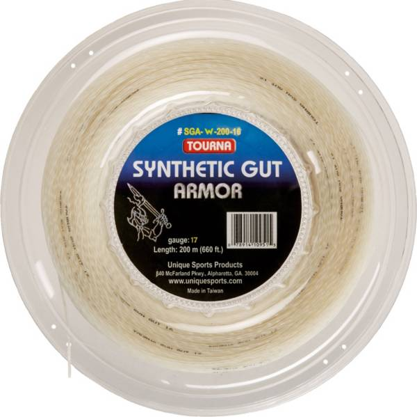 Tourna Synthetic Gut Armor 17 Tennis String - 660 ft. Reel product image