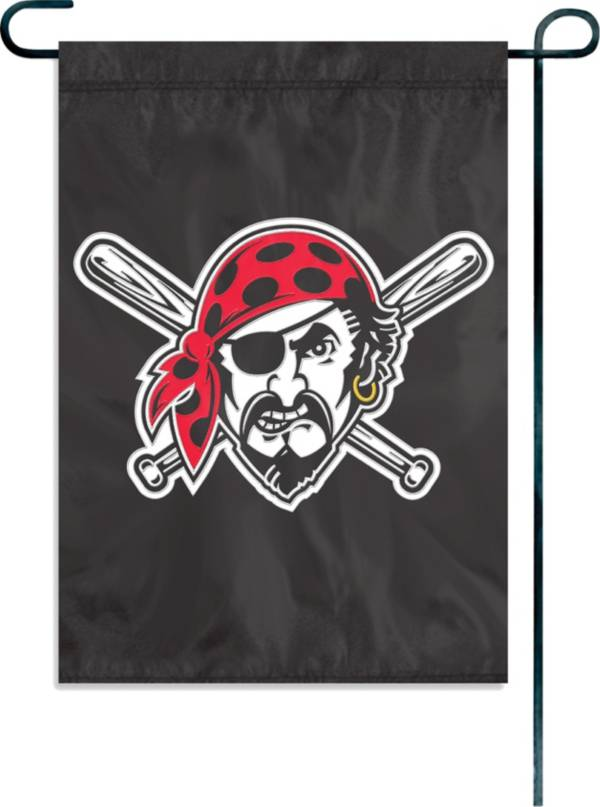 Party Animal Pittsburgh Pirates Black Garden/Window Flag product image