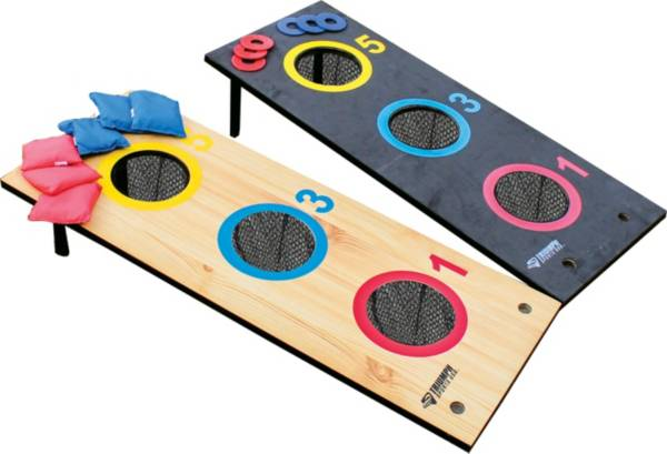 Triumph 2-in-1 3-Hole Tournament Bag Toss/Washer Toss Game Set product image