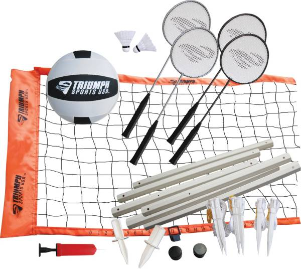Triumph Advanced Volleyball / Badminton Combo Set product image