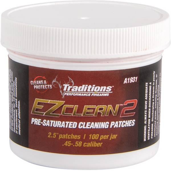 Traditions EZ Clean 2 Pre-Saturated Cleaning Patches product image