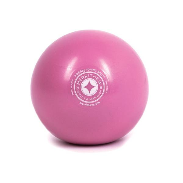 STOTT PILATES 2 lb Pink Toning Ball product image