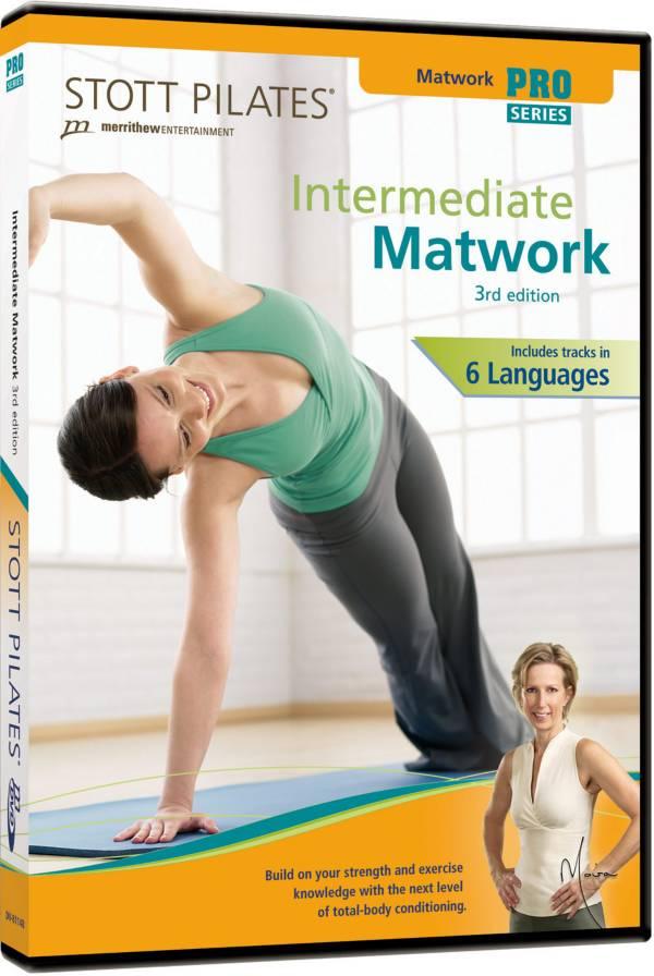 STOTT PILATES Intermediate Matwork DVD product image