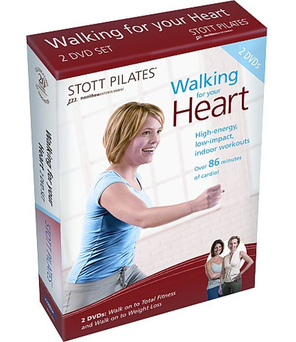 STOTT PILATES Walking for Your Heart 2 DVD Set product image