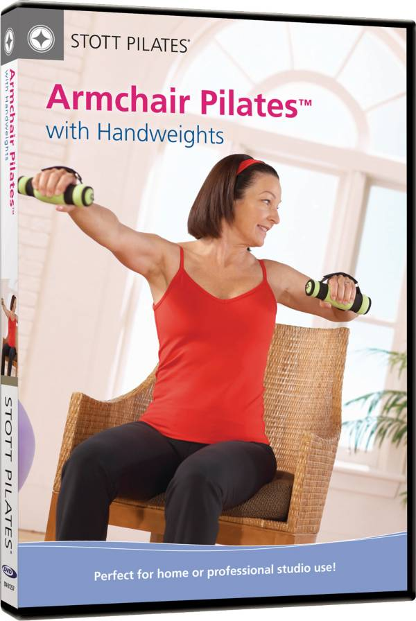 STOTT PILATES Armchair Pilates with Handweights DVD product image
