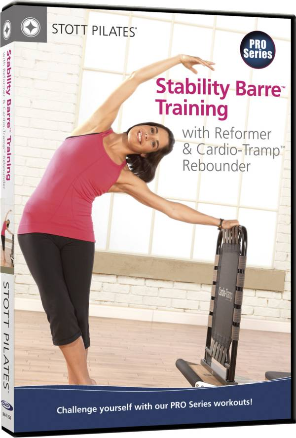 STOTT PILATES Stability Barre Training with Reformer and Cardio-Tramp DVD product image