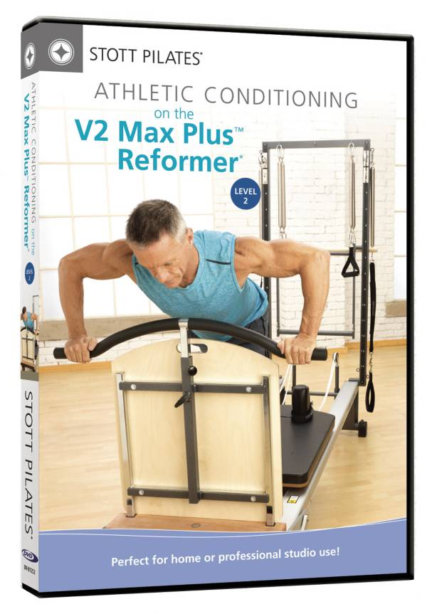 STOTT PILATES Athletic Conditioning on V2 Max Plus Reformer, Level 2 DVD product image