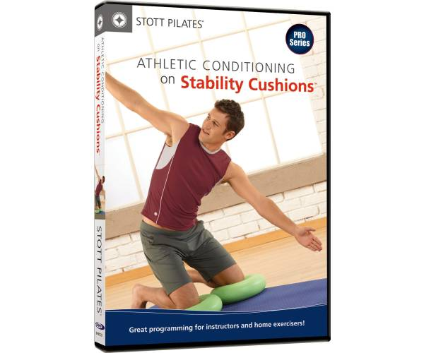 STOTT PILATES Athletic Conditioning on Stability Cushion DVD product image