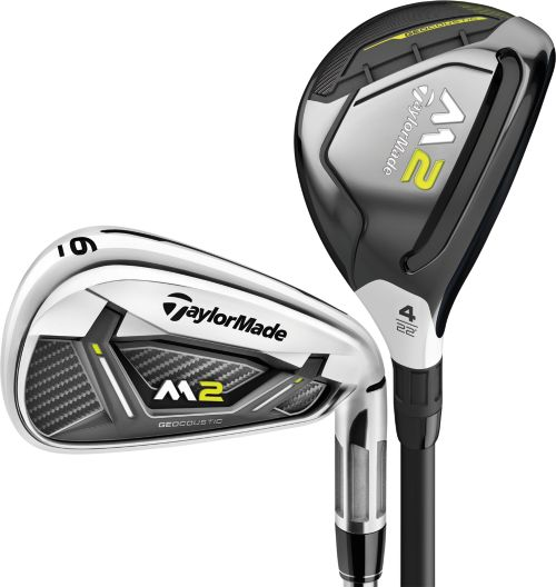 Taylormade 2017 M2 Rescue Irons Graphite Steel 1