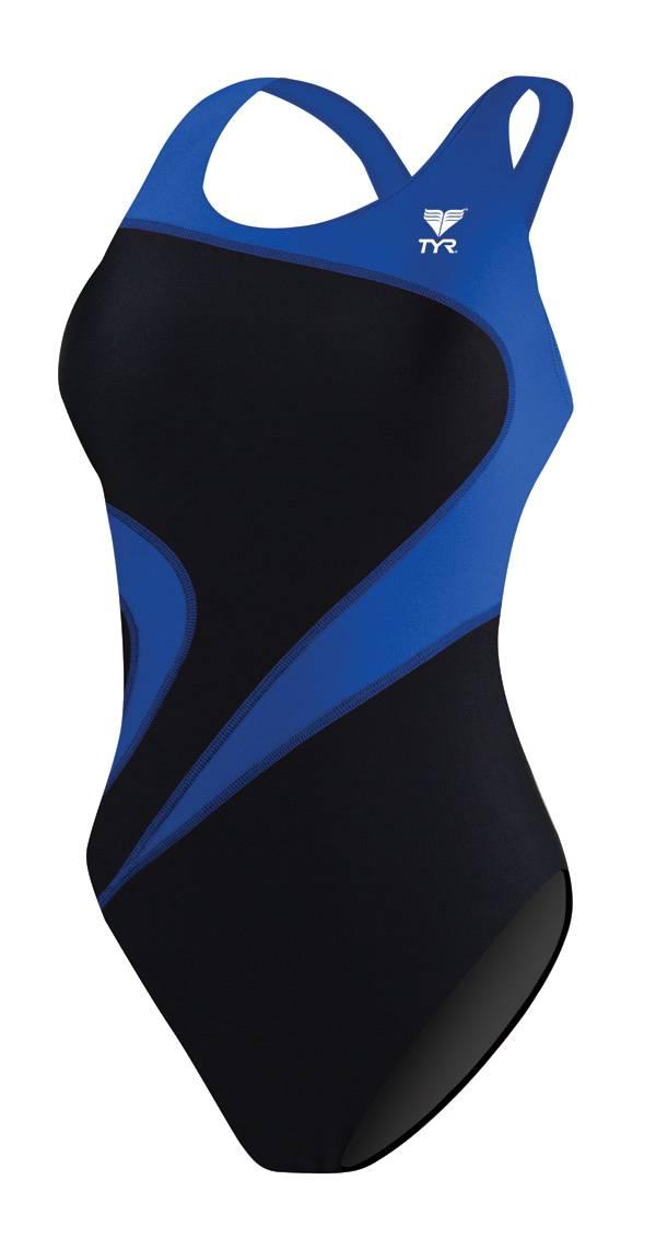 TYR Girls' Alliance Team Splice Maxback Tank Swimsuit product image