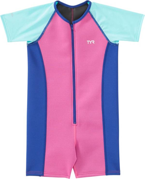TYR Girls' Solid Thermal Swimsuit product image