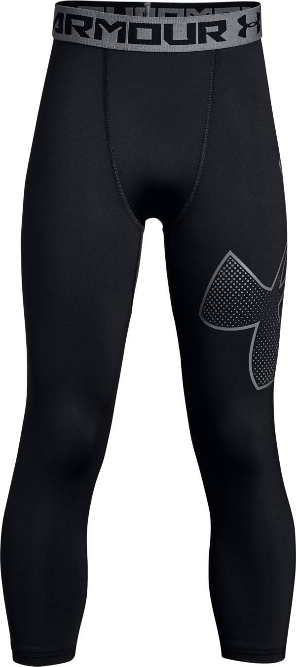 Under Armour Boys' Three Quarter Length Logo Leggings product image
