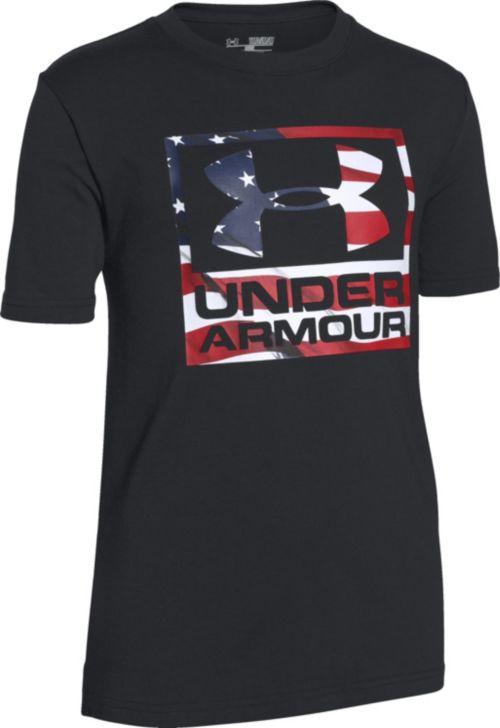 Under Armour Boys  Big Flag Logo T-Shirt. noImageFound. Previous 72942cc87