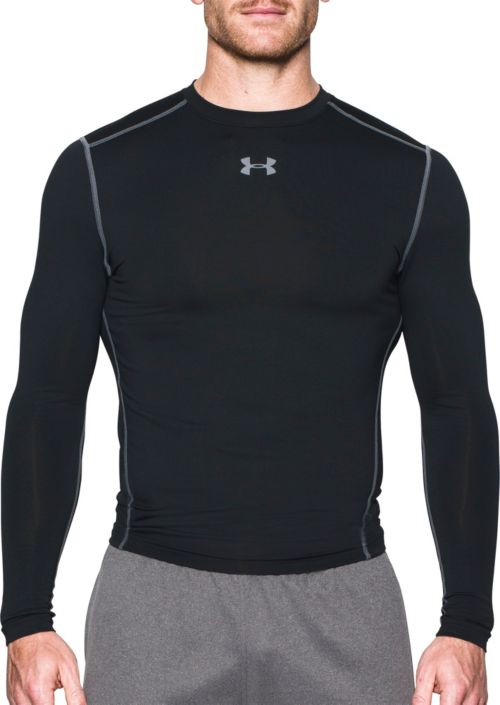 62b3b2116b2972 Under Armour Men s ColdGear Armour Compression Crewneck Long Sleeve ...