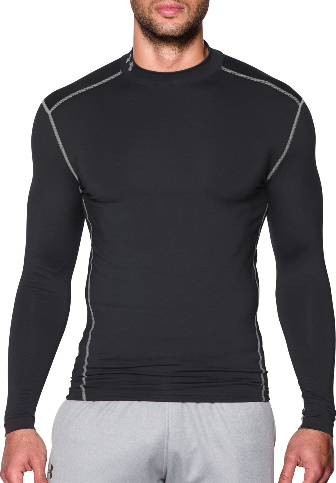 f2ffdc550 Under Armour Men's ColdGear Armour Compression Mock Neck Long Sleeve Shirt.  noImageFound. Previous