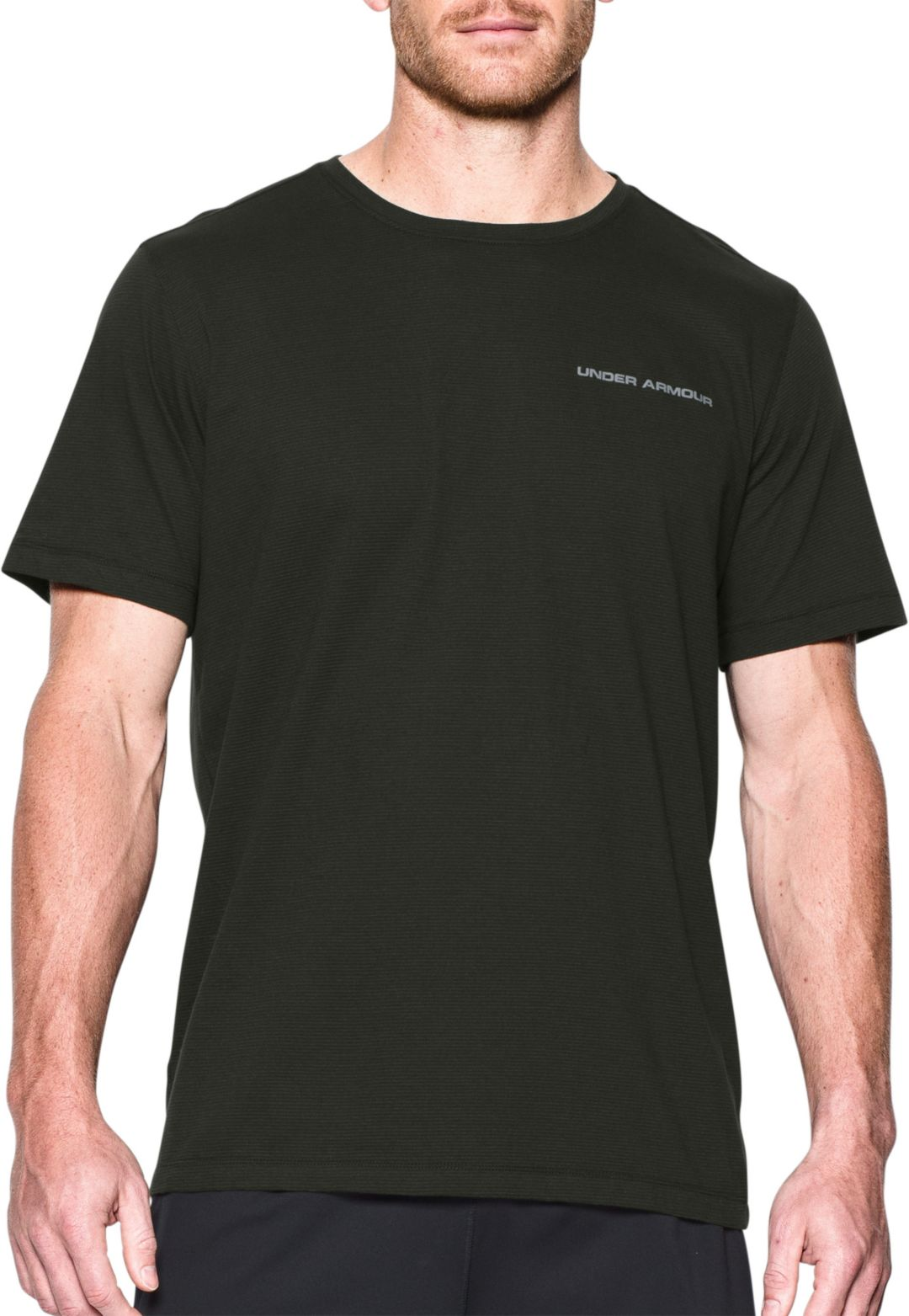 4a28a6f3 Under Armour Men's Charged Cotton MicroThread T-Shirt. noImageFound.  Previous