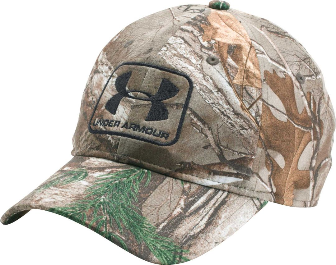 663fb46ad Under Armour Men's Camo Stretch Fit Hat