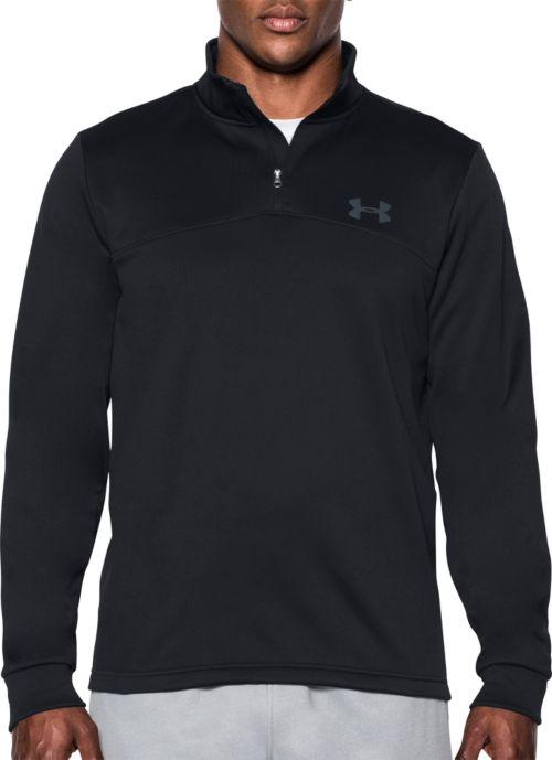 15cdda9f5139 Under Armour Men s Storm Armour Fleece Quarter Zip Sweatshirt.  noImageFound. 1