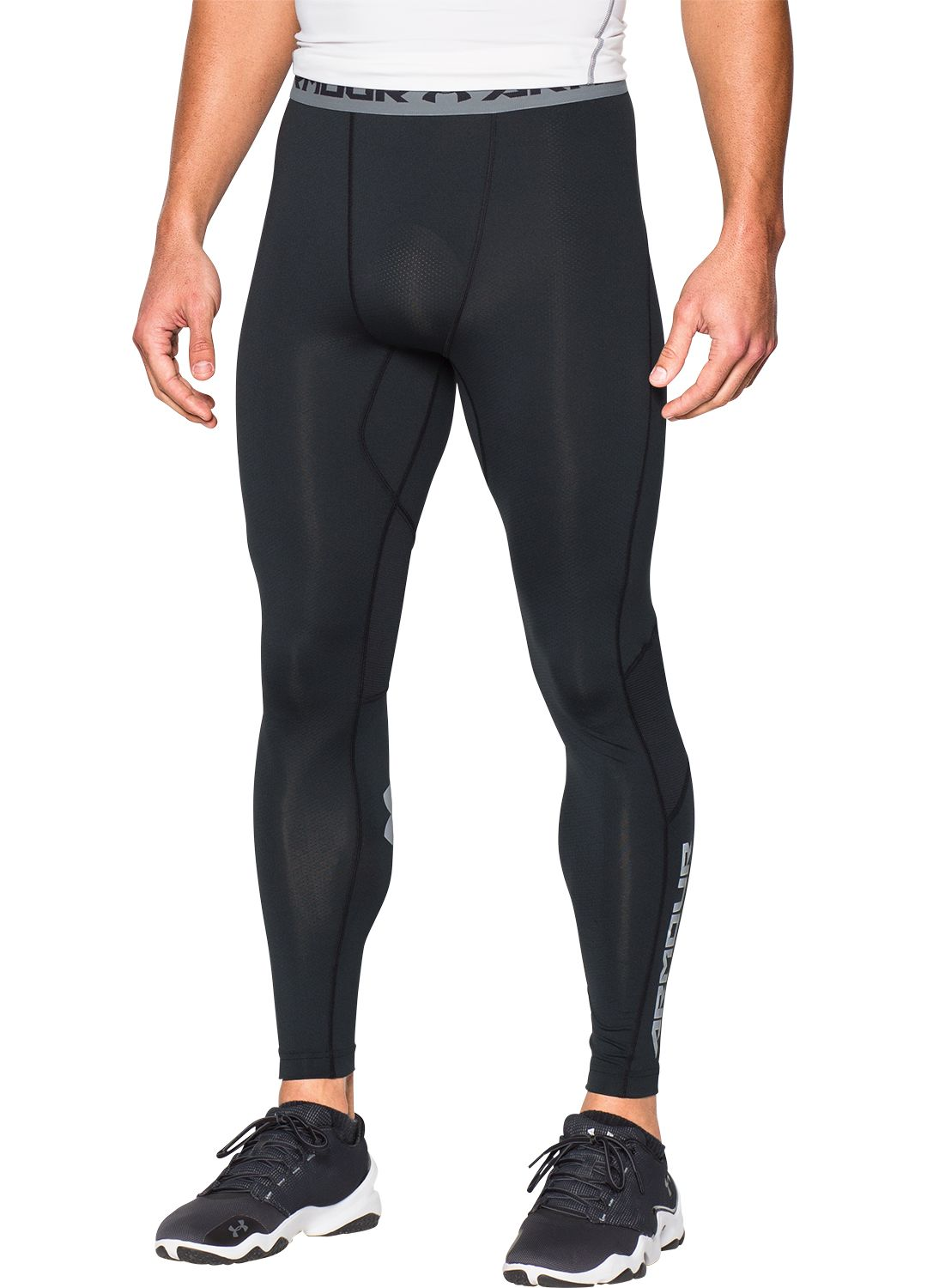 f6ce4330e3bbc Under Armour Men's HeatGear CoolSwitch Compression Leggings. noImageFound.  Previous