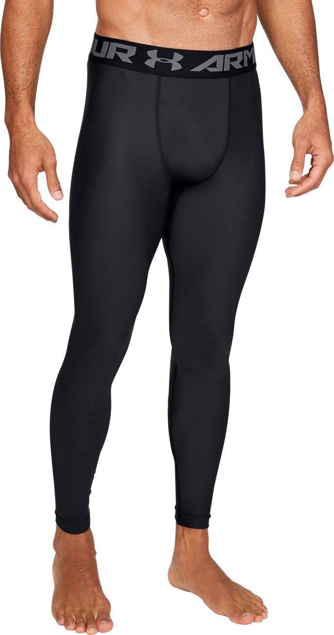 ab9992a41f1547 Under Armour Men's HeatGear Armour 2.0 Leggings | DICK'S Sporting Goods