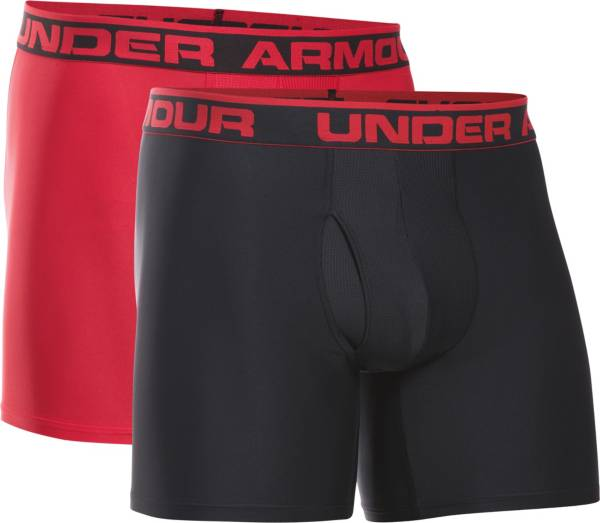 Under Armour Men's O Series 6'' Boxerjock Boxer Briefs 2 Pack product image
