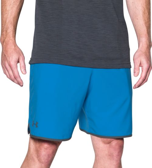 Under Armour Ua Qualifier Blue Loose Training Gym Shorts Mens Large Activewear Activewear Bottoms